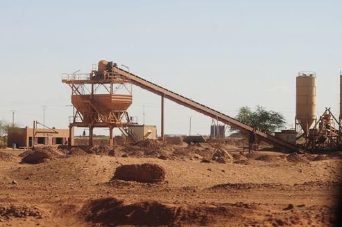 Une mine d'uranium, au Niger.