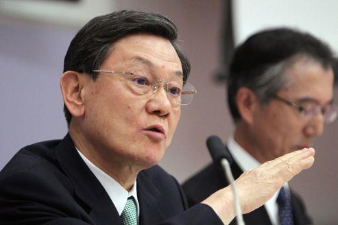Pertes records de Panasonic qui change son patron