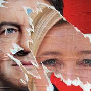 Le Pen et Mélenchon : six mois d'insultes