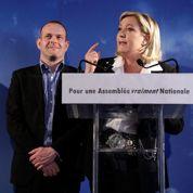Le Pen banalise la candidature Mélenchon