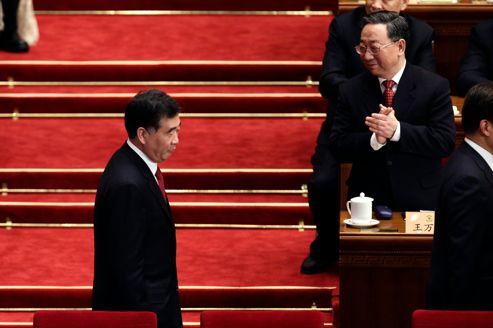 Les prétendants au comité permanent du PC chinois