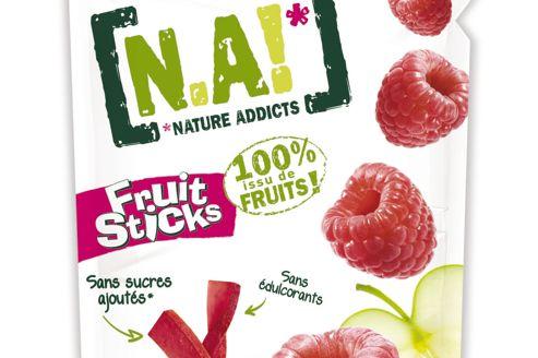 N.A!, le premier snack entièrement à base de fruits, sans sucre ni conservateur.