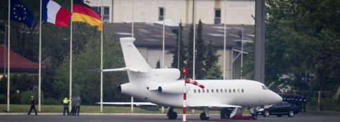 L'avion de François Hollande frappé par la foudre
