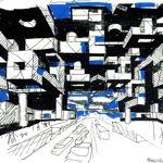 Yona Friedman, «Ville spatiale», 2009