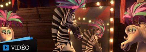 Madagascar 3, un premier extrait délirant