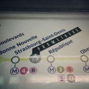 Prometheus s'invite dans le métro parisien