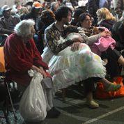 Italie : angoisse et douleur des rescapés