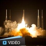 Le premier vol privé vers l'ISS a décollé