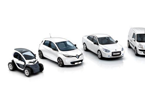 L'électriquese fait une petite place dans les flottes auto