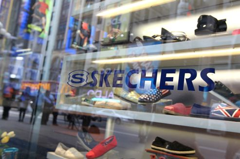 Une boutique Skechers à New York.