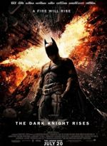 Batman alias Christian Bale, sur l'affiche définitive du film.