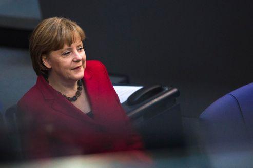 La chancelière allemande Angela Merkel.