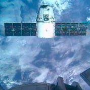 La capsule Dragon arejoint l'ISS