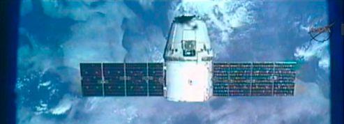 La capsule Dragon a rejoint la Station spatiale internationale