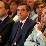 François Fillon, samedi, lors du séminaire de l'UMP.