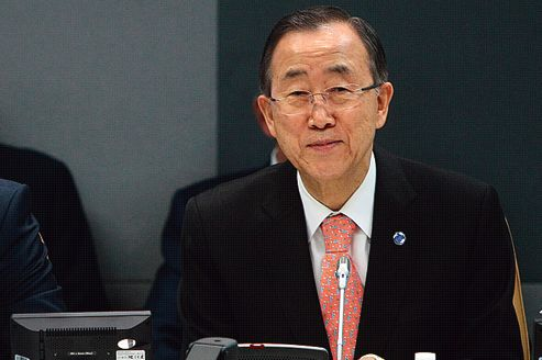 Ban Ki-moon reconnaît l'échec de l'ONU en Syrie