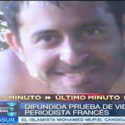 Une vidéo du reporter détenu par les Farc