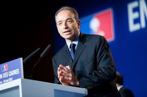 Le chef de file de l'UMP, Jean-François Copé, samedi à Paris.