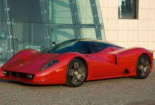 La P4/5 exécutée par Pininfarina à la demande de l'Américain James Glickenhaus.