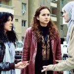 De gauche à droite: Nelly, Seba et Fayza, trois femmes qui revendiquent leurs droits.