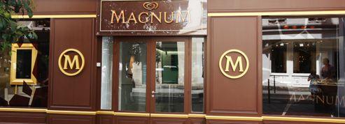 Magnum et Danone ouvrent leurs propres boutiques