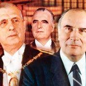Les présidents dans l'œil des photographes