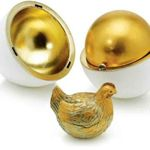 Le premier Oeuf Fabergé réalisé en 1885.