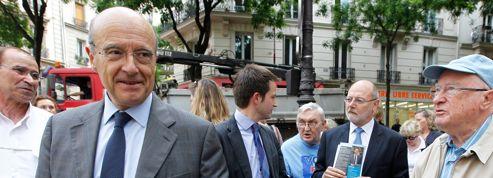 Juppé en campagne à Paris, mais pas pour la tête de l'UMP