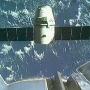 La capsule Dragon a amerri dans le Pacifique