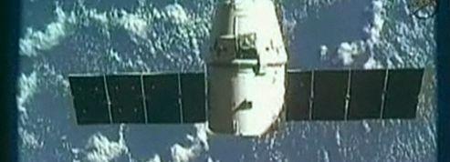 La capsule Dragon a amerri au large de la Californie