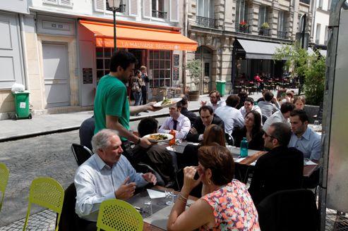 Les nouvelles terrasses de l'été 2012 à Paris : La Mauvaise Réputation