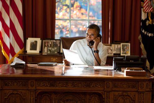 À l'occasion d'une vidéoconférence mercredi, le président des États-Unis, Barack Obama, a tenu à inciter une fois de plus ses homologues allemand, français et italien à trouver des solutions.