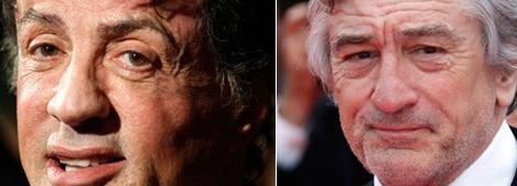 Robert de Niro et Sylvester Stallone, boxeurs ennemis ?