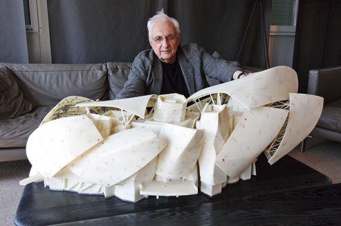 Frank Gehry: «J'ai voulu créer une impression d'éphémère»