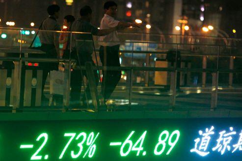 Bourse: l'indice de Shanghaï censuré à cause de Tiananmen