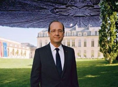 presidentielle artfig elysee devoile portrait officiel francois hollande