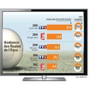 Télévision: l'Euro 2012 fait vendre
