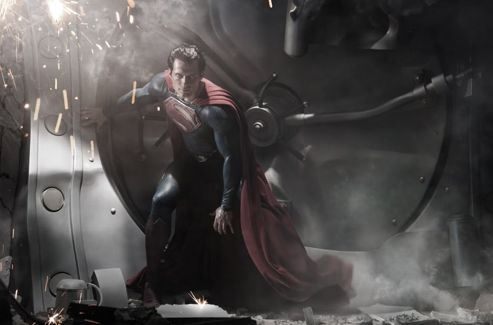 Henry Cavill dans Man of Steel, reboot de Superman. (© Warner Bros)