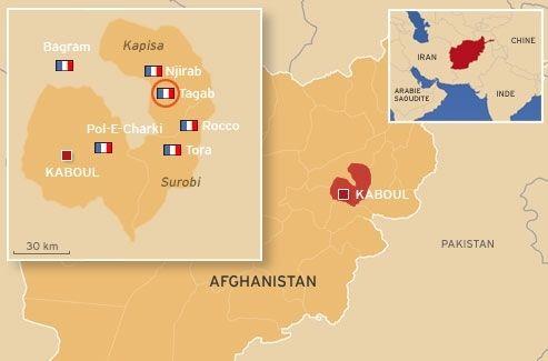 La dernière attaque en date contre des soldats français avait eu lieu à Taqab, non loin de Nijrab, lieu de l'attaque de ce samedi 9 juin.