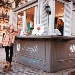 Le kiosque It Mylk à Montmartre