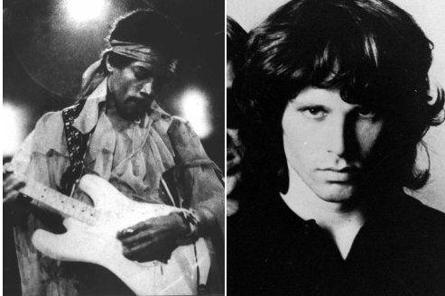 Jim Morrison et Jimi Hendrix en hologrammes
