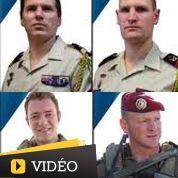 L'hommage de la France aux soldats tués