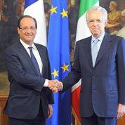 Hollande dévoile sa feuille de route à Monti