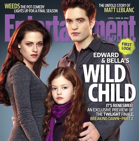La couverture spéciale Twilight du magazine américain Entertainment Weekly. (© Summit/EW)