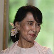 Aung San Suu Kyi débute sa tournée européenne
