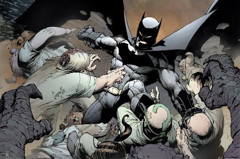 Batman, nouveau champion de DC Comics