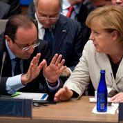 Hollande et Merkel : aplanir les divergences