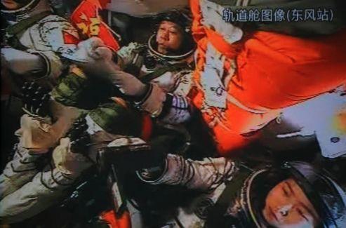 Liu Yang, à droite, est la première astronaute chinoise.