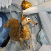 Scrat et sa noisette au musée Grévin