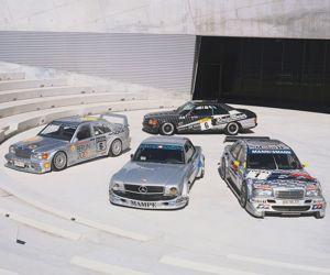Ces modèles de course participèrent à la renommée de la société AMG à travers le monde.